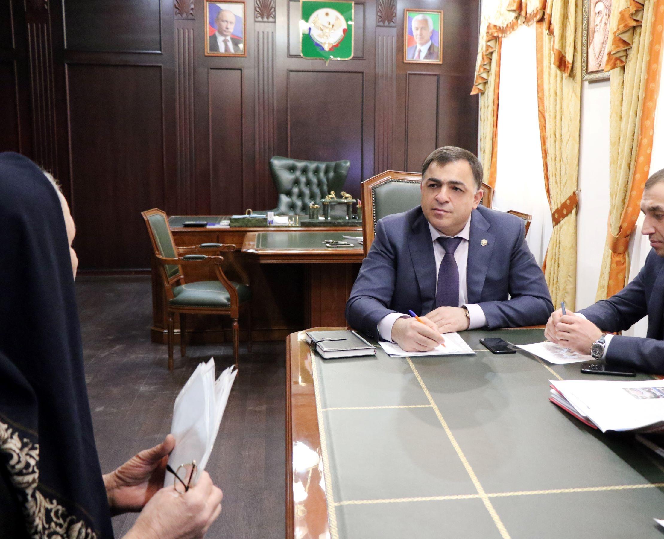 Фарид Ахмедов провел первый в новом году прием граждан по личным вопросам